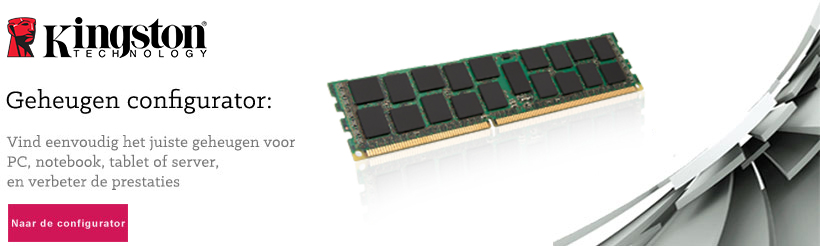 Kingston geheugen configurator