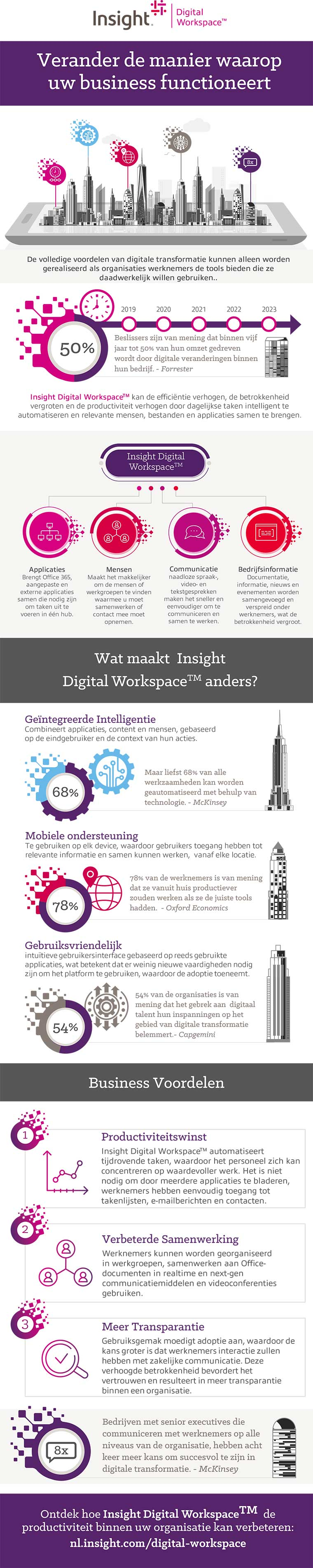 Insight Digital Workspace Infographic
